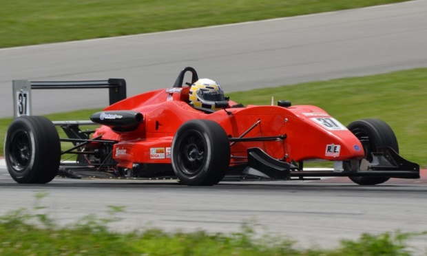Chris Livengood driving a RFR F2000 Car at Mid Ohio.