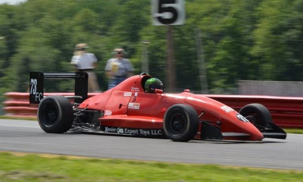 Vaughn Horvath piloting his signature #73 Van Diemen at Mid Ohio this past summer.