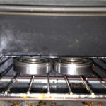 Main bearings in my toaster oven.