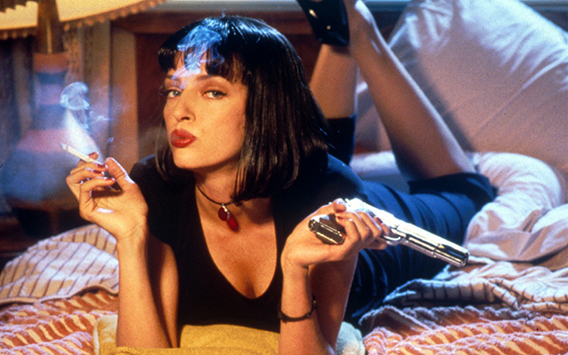 Mia Wallace from Pulp Fiction.