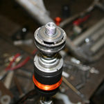 Shim stack inside the rebound adjustable RFY shock.