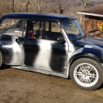 My father Dave's Austin Mini based hot rod.