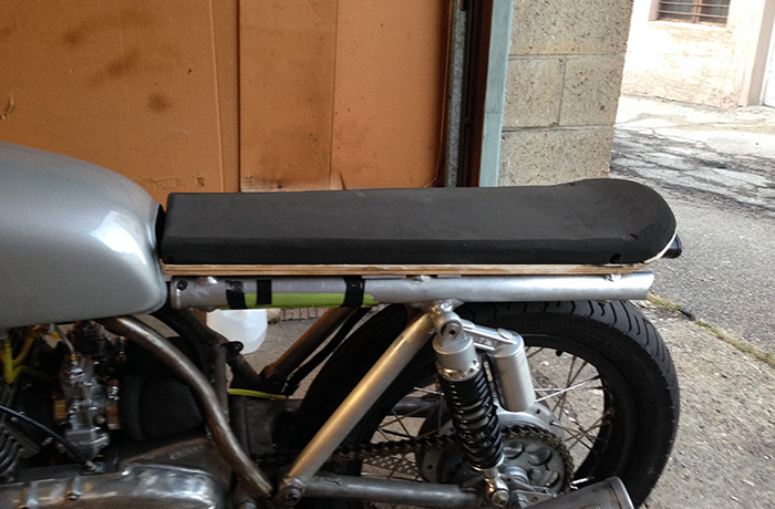 Here is the final profile of the seat pan and foam.