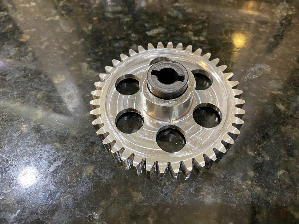 Billet GT750 Water Pump Gear