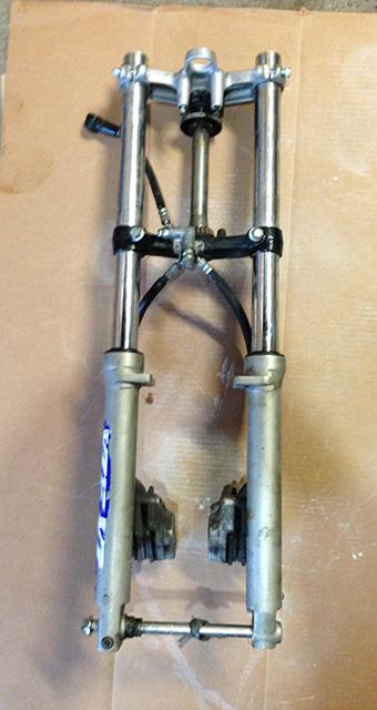 FZR600 Forks