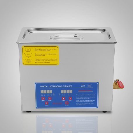 Ultrasonic cleaning tank used for carburetors.