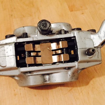 Caliper Looking Clean After Ultrasonic Cleaning