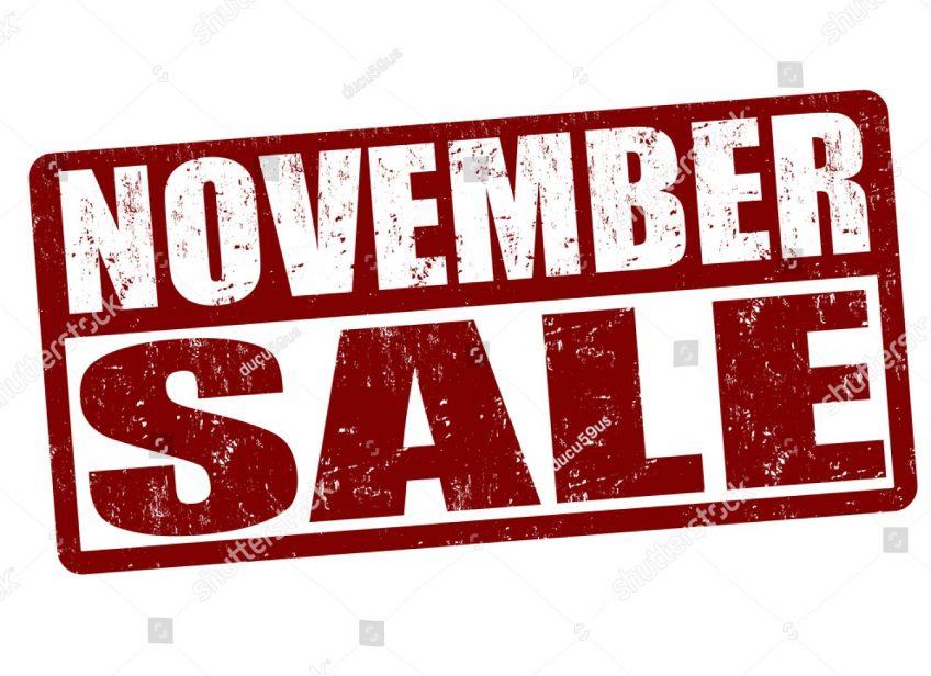 November Super Sale!